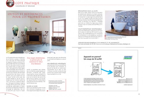 Transformation renovation Propriété Magazine Cré'Architecture